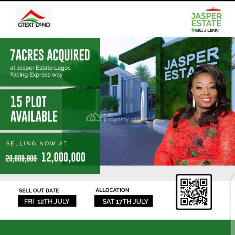 Fine Plots of Land, Jasper Estate, Ibeju, Lagos, Land for Sale