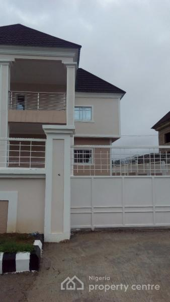 Newly Built 4 Bedroom Detached Duplex with 2 Rooms Boys Quarters, By Lifecamp After Brain & Hammer Estate, Kafe, Abuja, House for Sale