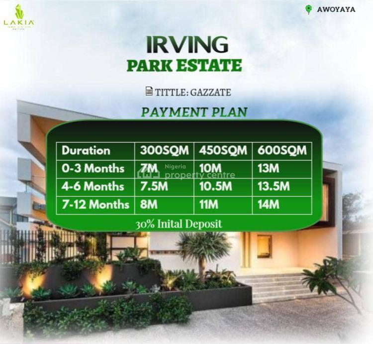Fine Plots of Land, Oribawa Bus-stop, Awoyaya, Ibeju Lekki, Lagos, Land for Sale