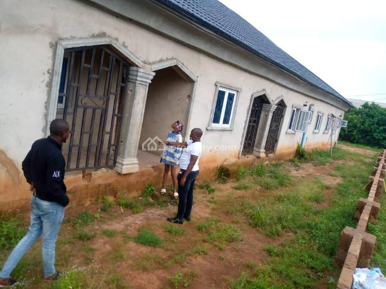 8 Flats Uncompleted Building Roofed on 100ft By 200ft Land, Obagienevbuosa Community, Airport Road, Benin, Oredo, Edo, Block of Flats for Sale