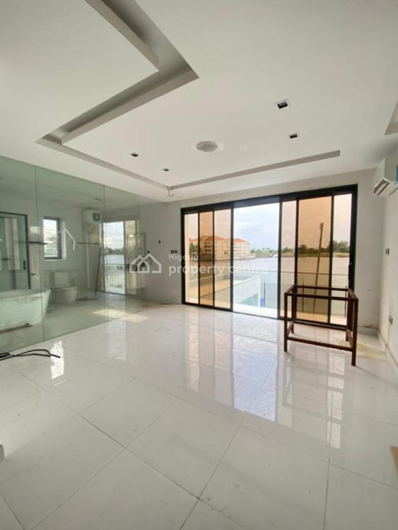 Waterfront 5 Bedrooms Fully Detached Duplex with Jetty and 2 Bqs, Ikoyi, Lagos, Detached Duplex for Sale