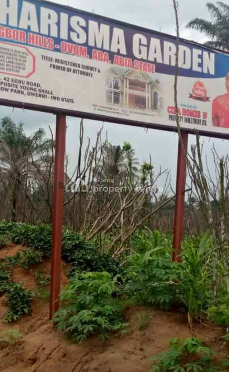 Verified Government Approved Land in Good Location, Charisma Garden Ogbor Hills, Aba, Abia, Mixed-use Land for Sale