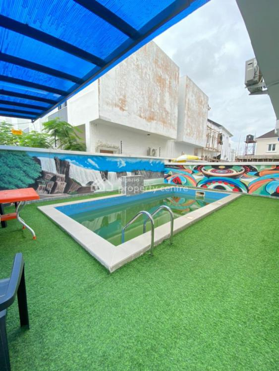 Lovely 5 Bedrooms Fully Detached Duplex + Bq with Swimming Pool, Well Serene, Ajah, Lagos, Detached Duplex for Sale