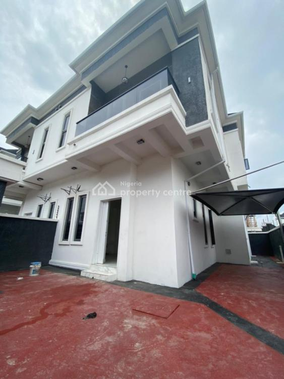 This Lovely 4 Bedroom Semi-detached with Bq Well Finished, 2nd Toll Gate,, Lekki Phase 2, Lekki, Lagos, Semi-detached Duplex for Sale