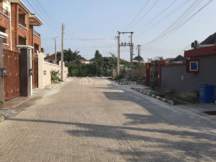 Spacious Clean 4 Bedroom Terrace Duplex, Gated Estate Before Sangotedo Shop Rite, Sangotedo, Ajah, Lagos, Terraced Duplex for Rent