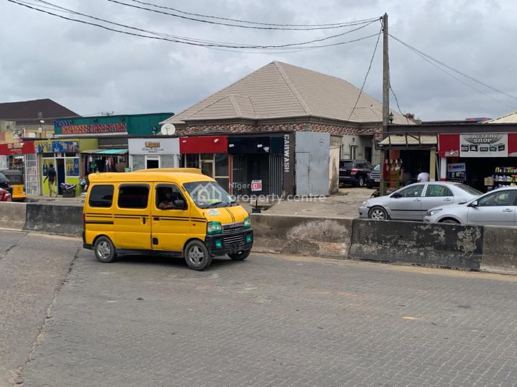 a Land Measuring 680sqm with an Event Center, Ago Palace, Okota, Isolo, Lagos, Mixed-use Land for Sale