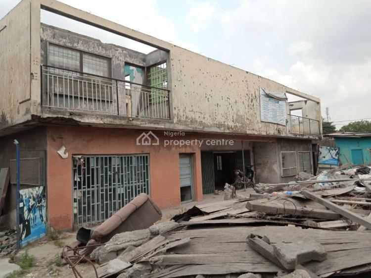 a Prime 650 Sqm Land with Demolishable Building, Saint Finbarrs Road, Akoka, Yaba, Lagos, Mixed-use Land for Sale