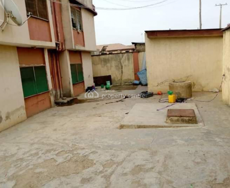 4 Units of 3 Bedrooms Flats with 2 Shops in Front with Fence, Oke-lantoro, Abeokuta South, Ogun, Semi-detached Bungalow for Sale