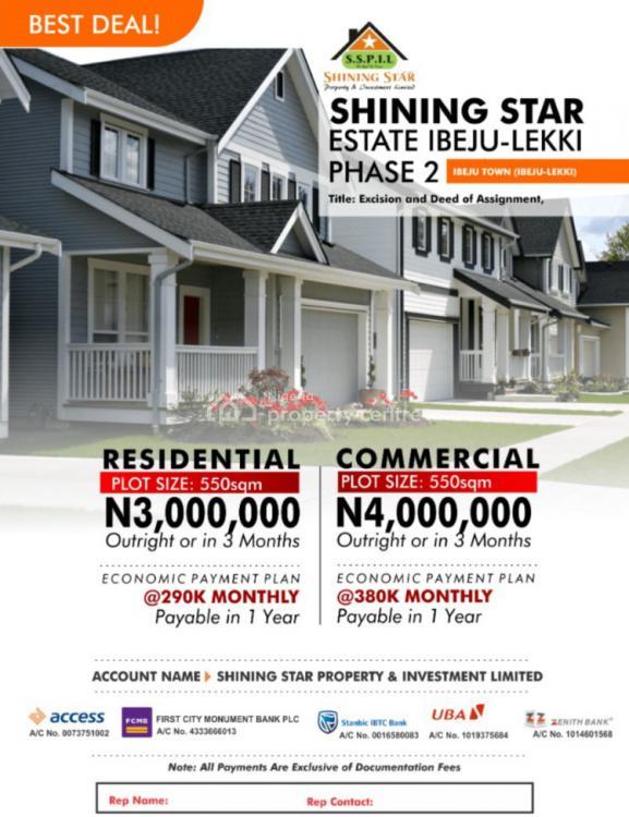 Residential Land, Ibeju Lekki, Lagos, Mixed-use Land for Sale