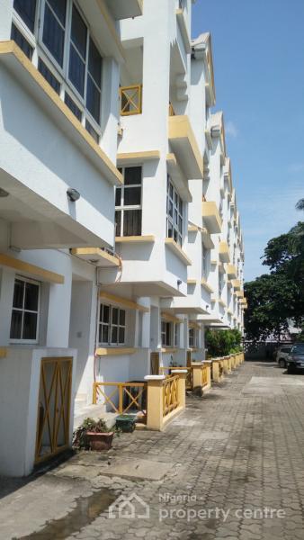 Exclusive 4 Bedroom Terrace Duplex On 2 Floors , Victoria Island (vi), Lagos, 4 Bedroom House For Sale
