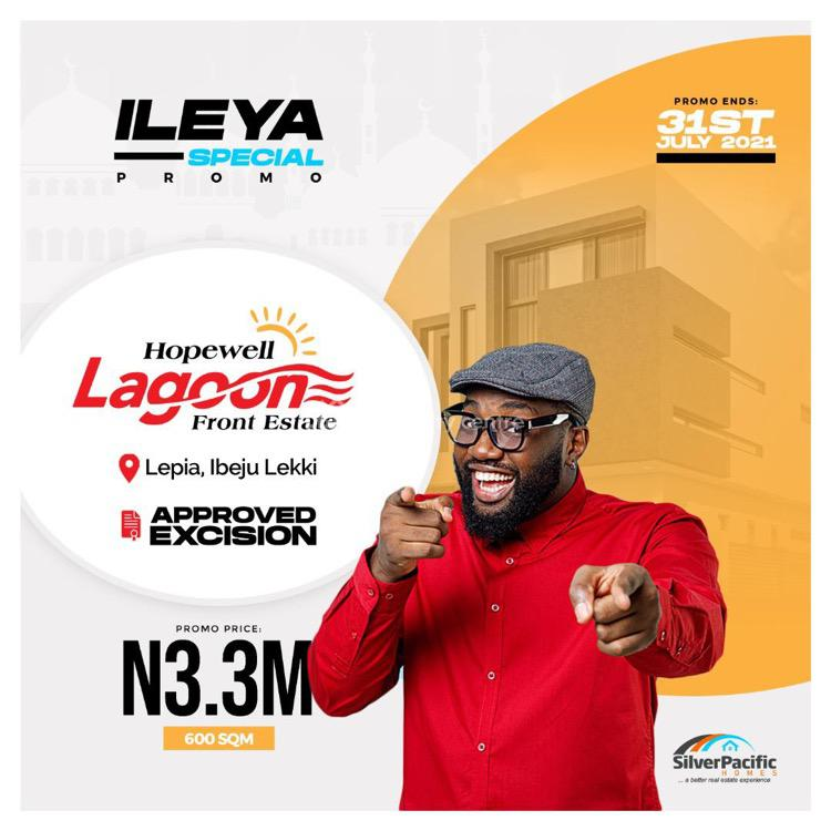 Landed Property  Available in Fast Rising Hub, Hopewell Lagoon Front, Lepia, Ibeju Lekki, Lagos, Residential Land for Sale