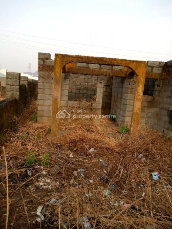 3 Bedroom Apartment Carcass with One Bedroom, Chikakaore, Kubwa, Abuja, Detached Bungalow for Sale