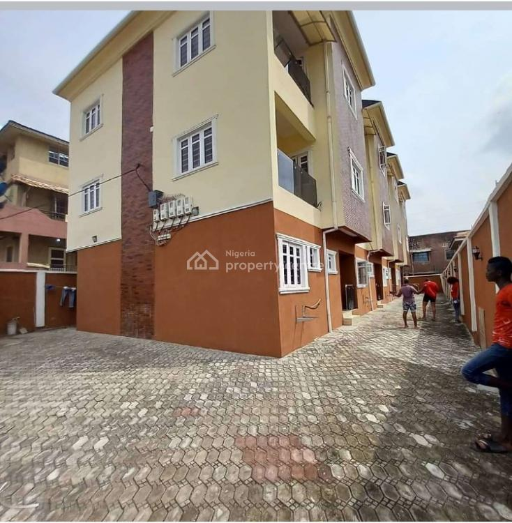 Newly Built and Partly Serviced 5 Bedroom Terrace Duplex, Kilo/masha, Surulere, Lagos, Terraced Duplex for Rent