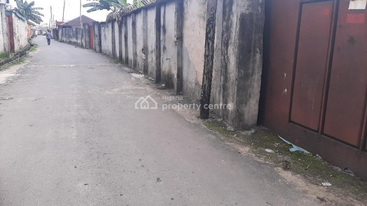 Accessible Fully Fenced Dry Land Measuring 689 Square Metres, Agip Junction, Ada George, Rumueme, Port Harcourt, Rivers, Residential Land for Sale