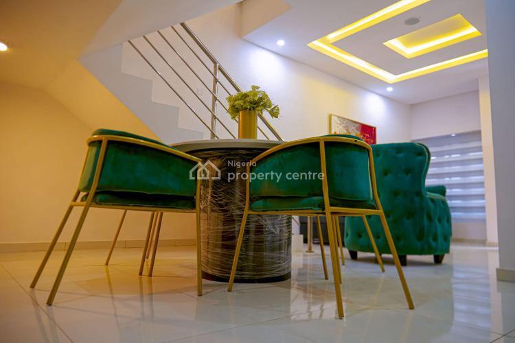 Luxury Newly Finished 4 Bedroom Terrace, Agungi, Lekki, Lagos, Flat / Apartment Short Let