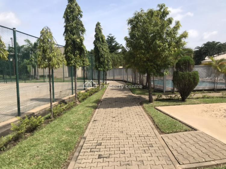 Built 4 Bedrooms Detached House with Bq in an Estate, Off Obafemi Awolowo Way, Jabi, Abuja, Detached Duplex for Sale