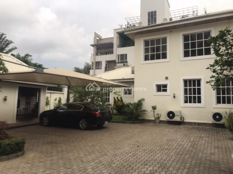 Opulently Designed 5 Bedrooms Duplex with 1 Bedroom Guest Wing & 2 Rooms Bq, Off Aminu Kano Crescent, Wuse 2, Abuja, Detached Duplex for Rent