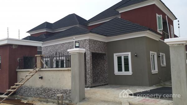 Brand New 4 Bedroom Bungalow With Paint House Ikota Villa Estate Lekki