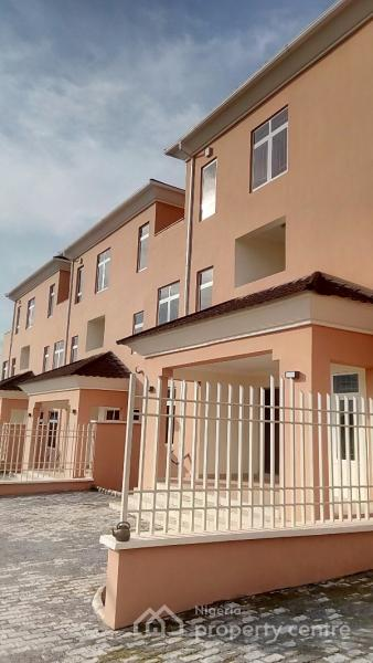 Luxury 4bedroom Terrace House, By Christ Embassy, Durumi, Abuja, Terraced Duplex for Sale