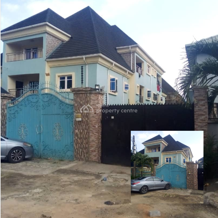 Mordern 5 Units of 3 Bedroom Apartment., Greenfield Estate, Ago Palace, Isolo, Lagos, Block of Flats for Sale
