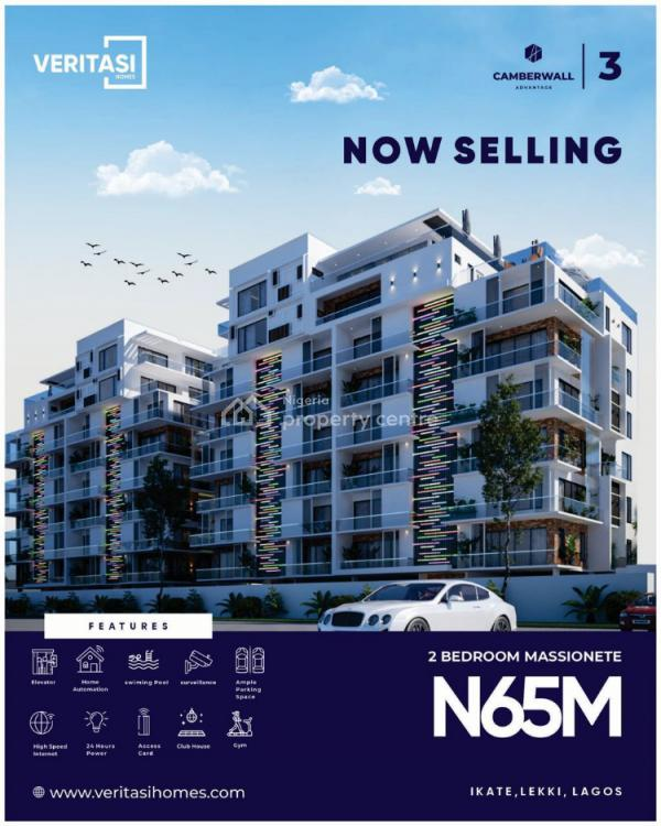Camber Wall Advantage, Lekki 1, Off Freedom Way, Ikate, Lekki, Lagos, Terraced Duplex for Sale