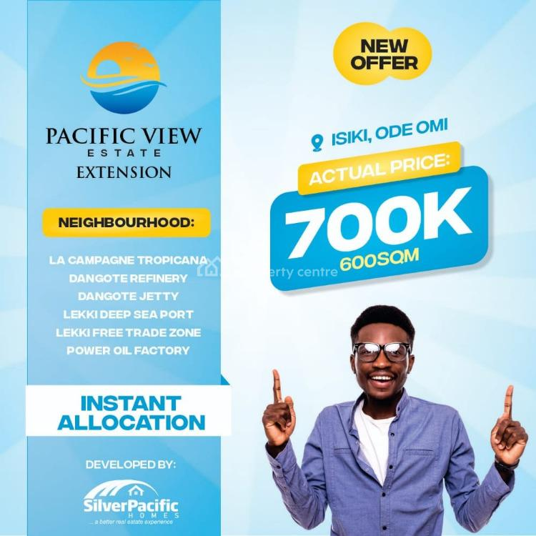 Pacific View, Isiki, Ode Omi, Ibeju Lekki, Lagos, Mixed-use Land for Sale