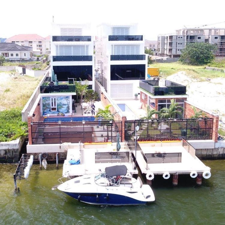 5 Bedroom Fully Detached Duplex House with 2 Rooms Bq Swimming Pool, Banana Island, Ikoyi, Lagos, Detached Duplex for Sale