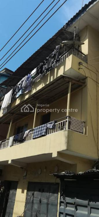 Neatly Maintained 2 Storey Building, Off Tokunboh, Lagos Island, Lagos, Block of Flats for Sale