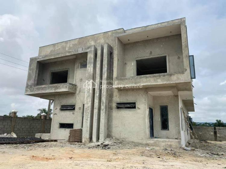 3 Bedroom Semi-detached Duplex with Bq, Lekki/epe Expressway, Abijo, Lekki, Lagos, Semi-detached Duplex for Sale