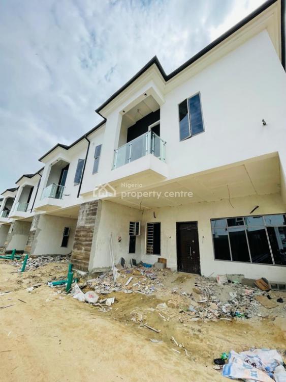 4 Bedroom Terraced Duplex with a Room Bq, Orchid, Lekki, Lagos, Terraced Duplex for Rent