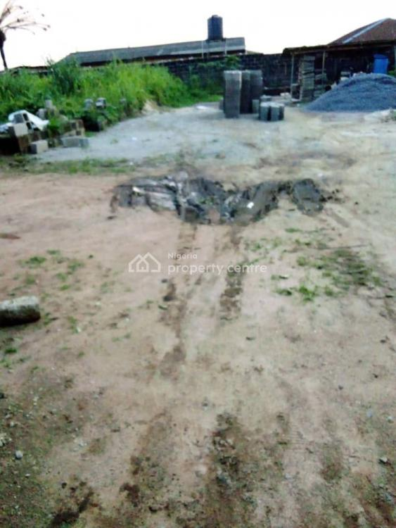Facing The Express: 1-half  Fenced and Gated Corner Piece, Abijo, Lekki, Lagos, Land for Sale