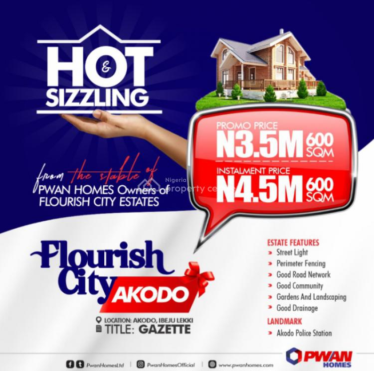 Land, Flourish City, Akodo, Ibeju Lekki, Lagos, Land for Sale