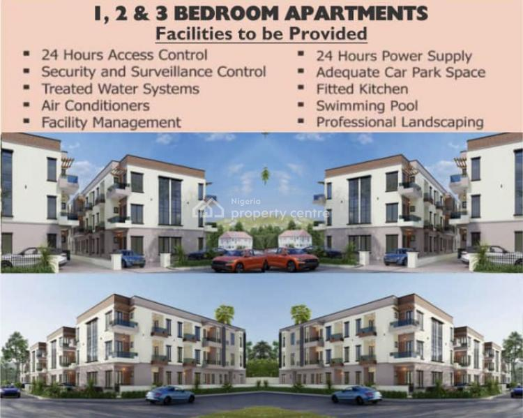 Luxury 3 Bedroom with Bq, Conservative Road By Chevron, Lekki, Lagos, Flat / Apartment for Sale