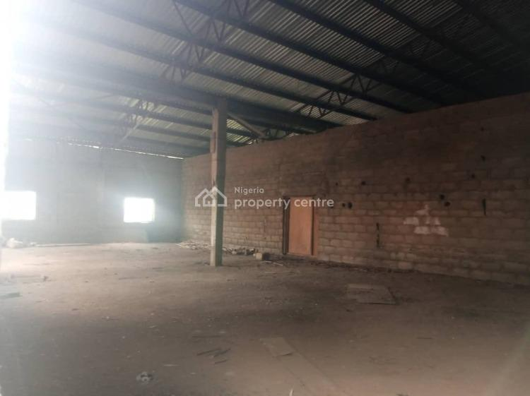 Warehouse Space Measuring About 3000sm on Land Measuring About 4000sm, Ojoo, Ibadan, Oyo, Warehouse for Rent