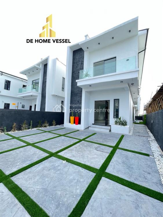 Exotically Finished 5 Bedroom Fully Detached Duplex with Swimming Pool, Ajah, Lagos, Detached Duplex for Sale
