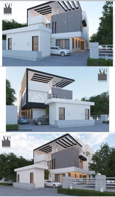 Modern 4 Bedroom Semi-detached House with Bq, Off Admiralty Way, Lekki Phase 1, Lekki, Lagos, Semi-detached Duplex for Sale