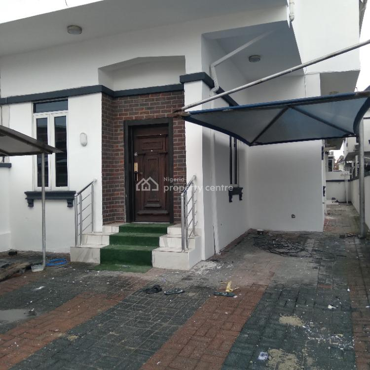 Well Finished 4-bedroom Semi-detached House with Bq, Chevron Drive, Lekki, Lagos, Semi-detached Duplex for Rent