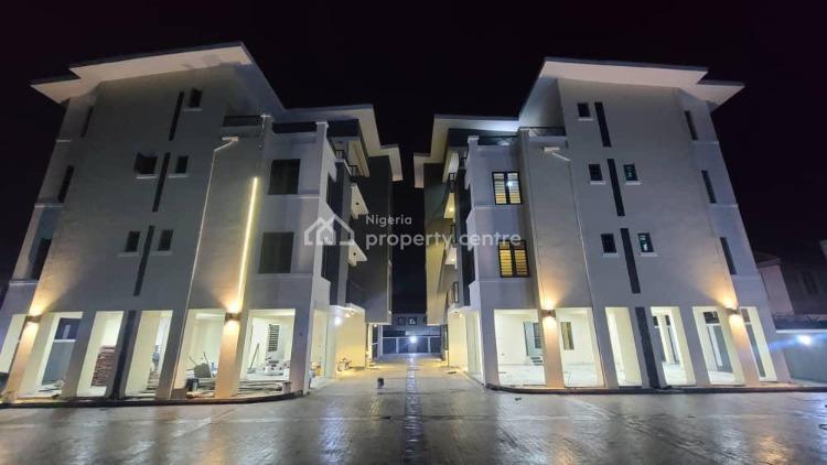 24hrs Light Luxury Brand New Serviced 3 Bedroom, Chevron Axis, Lekki, Lagos, Flat / Apartment for Rent