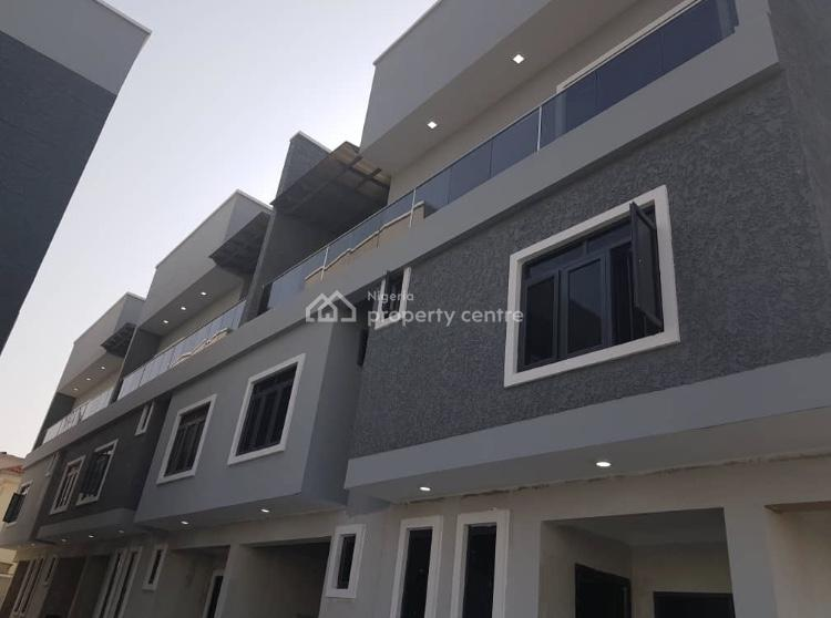 Nicely Finished and Serviced 5 Bedroom Terrace Duplex with a Room Bq, Lekki Phase 1, Lekki, Lagos, Terraced Duplex for Sale
