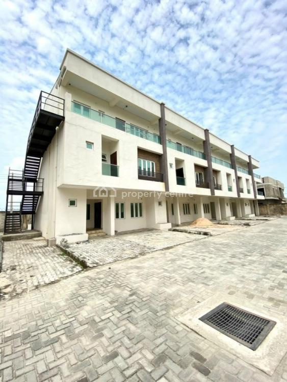 Serviced 2 Bedroom Carcass Apartments, Chevron, Lekki, Lagos, Flat / Apartment for Sale