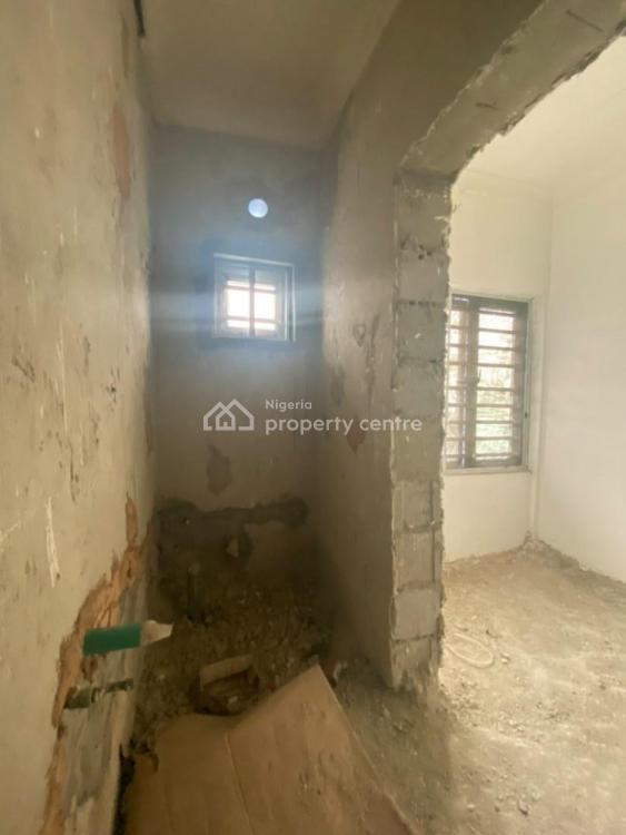 Carcass 2 Bedroom Flat, Chevron, Lekki, Lagos, Block of Flats for Sale
