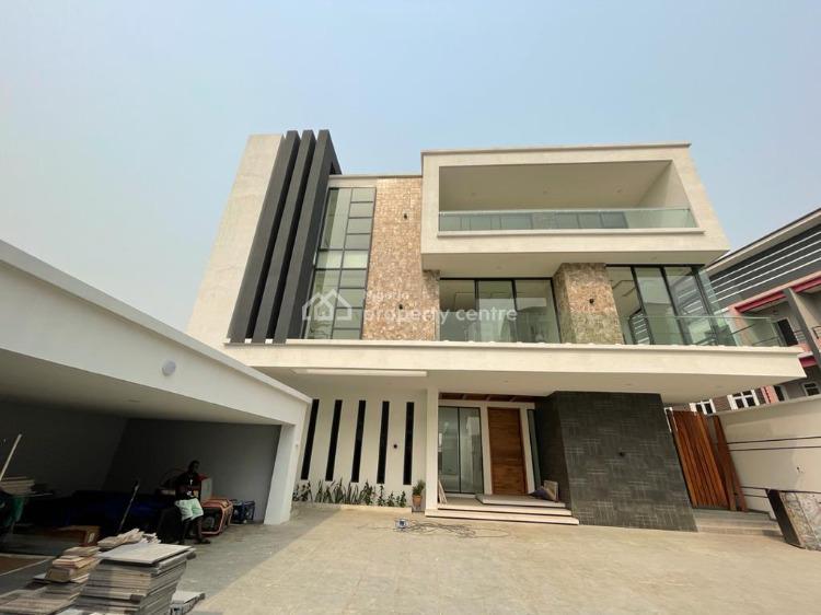 Super 6 Bedroom Detached Duplex with 2 Rooms Bq  on 1000sqm2, Parkview, Ikoyi, Lagos, Detached Duplex for Sale