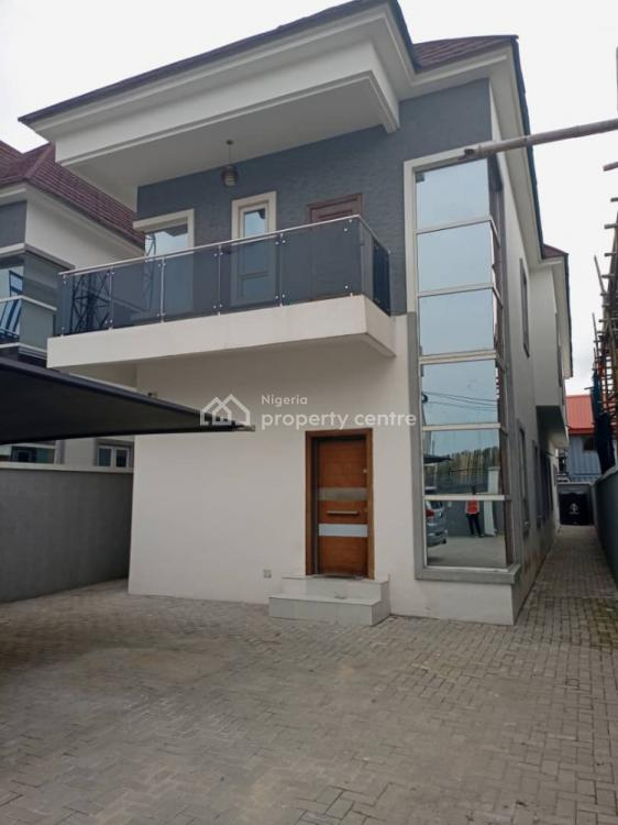 Newly Built and Luxury 2 Units of 5 Bedroom Fully Detached with Bq, Chevron, Lekki, Lagos, Detached Duplex for Rent