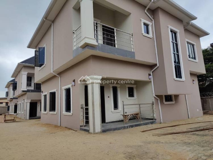 5numbers of 4 Bedroom Detach Duplx Wth Bq Each All in  Common Compound, Gra Phase 1, Magodo, Lagos, Detached Duplex for Sale