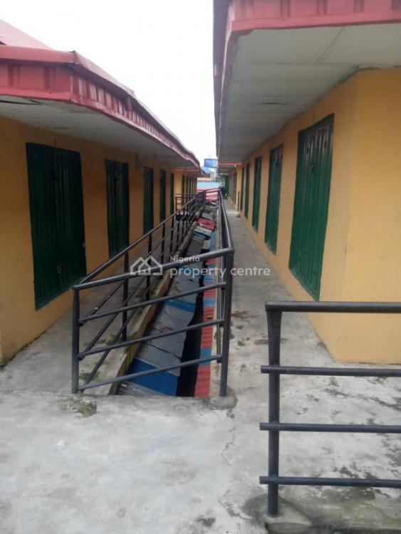 Block of Standard Shops in a Very Good Market Environment, Daleko International Market, Ladipo, Mushin, Lagos, Commercial Property for Sale