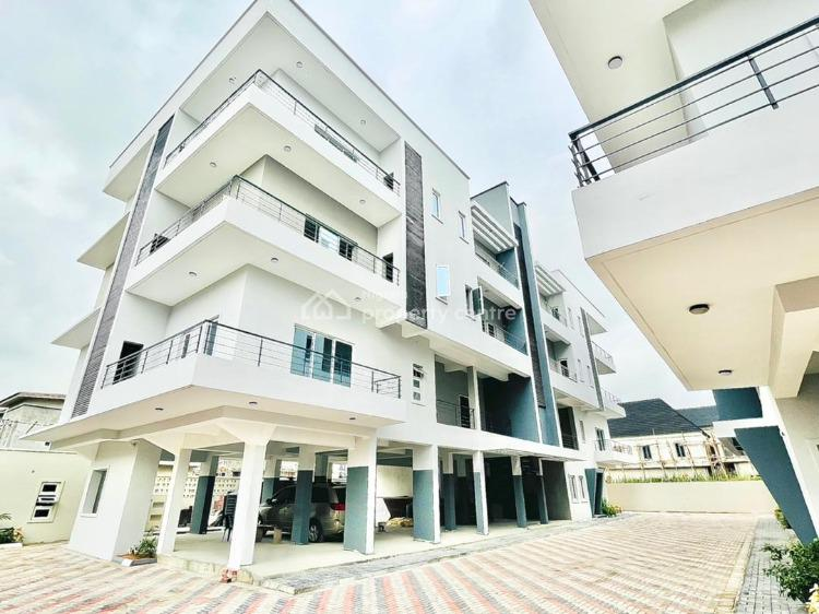 Brand New Fully Serviced 3 Bedroom Apartment with Bq Available, Orchid Road, Lekki, Lagos, Flat / Apartment for Rent