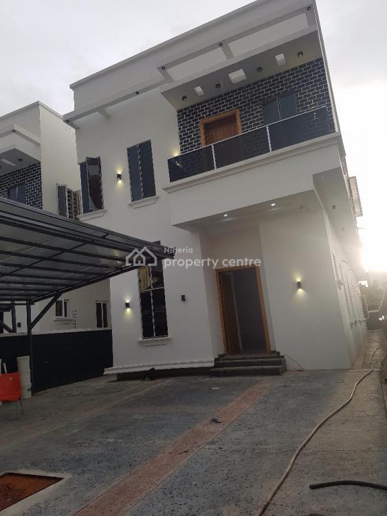 4 Bedrooms Fully Detached Duplex with Bq, Osapa, Lekki, Lagos, Detached Duplex for Sale