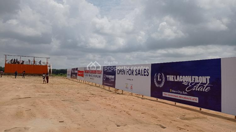 Plots of Land with Government Allocation, Lagoon Front Estate, Alaro City, Epe, Lagos, Residential Land for Sale