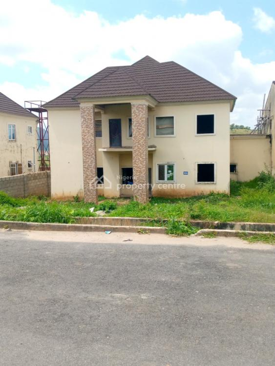4 Bedroom Semi Detached Duplex with a Room Bq, Naf Valley Estate, Asokoro District, Abuja, Semi-detached Duplex for Sale