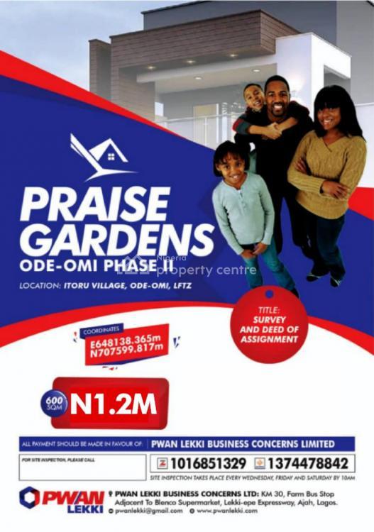 Praise Garden Estate, Toru Village, Ode Omi, Ibeju Lekki, Lagos, Mixed-use Land for Sale